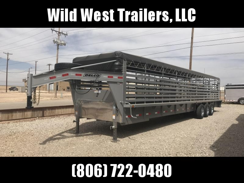 2018 Delco 36ft Livestock Trailer