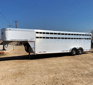 2005 Cimarron 24 ft Livestock Trailer