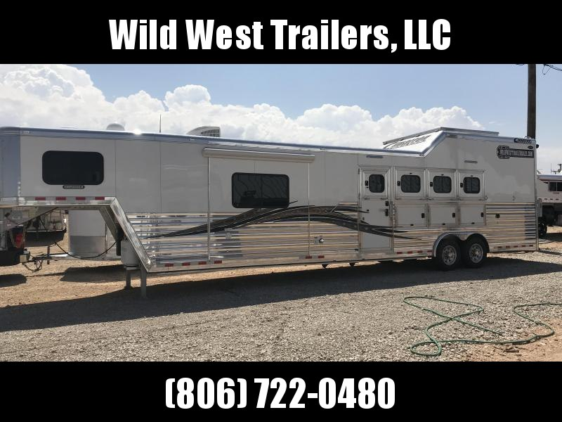 2018 Cimarron 4H with 15ft SWl Horse Trailer