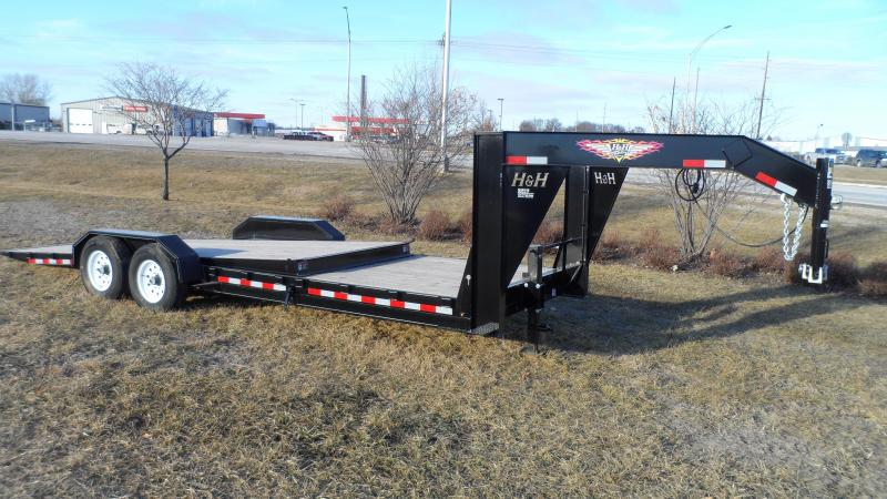 2018 H and H Trailer 18+6 GTL GOOSENECK 14K in IA