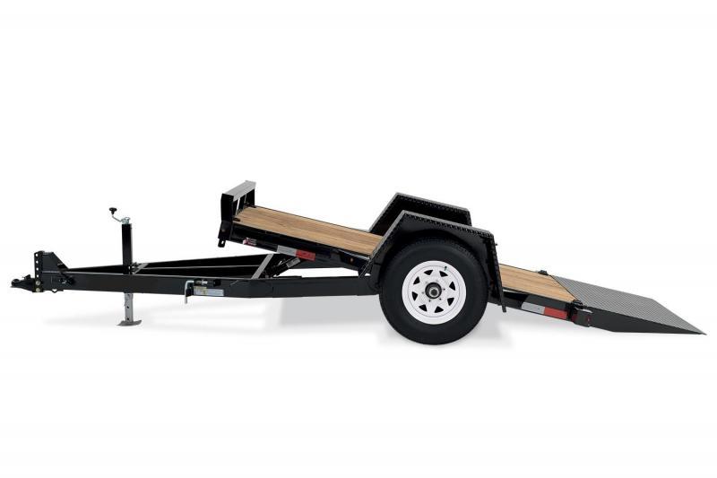 2019 H and H Scissor LIft (Gravity Tilt) Single Axle  Equipment Trailer in Ashburn, VA