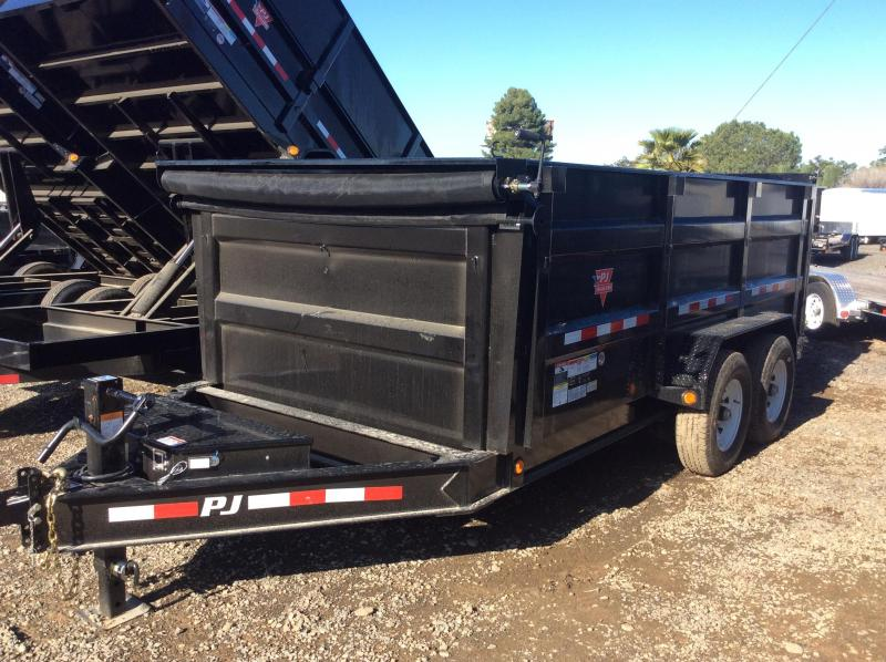 2019 PJ Trailers 83 in. High Side Dump (DH) Dump Trailer