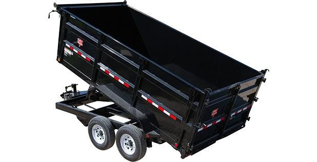 2018 PJ Trailers 83 in. High Side Dump (DH) Dump Trailer
