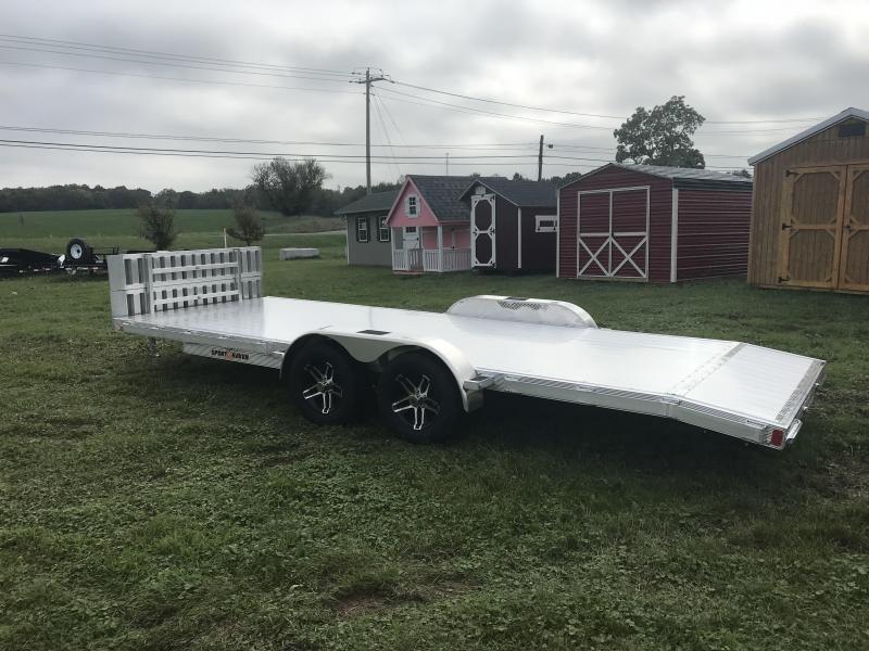 """20' x 83"""" Sport Haven Aluminum Car Hauler"""
