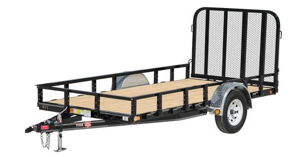 2018 PJ Trailers 72 in. Channel Utility (U2) Utility Trailer