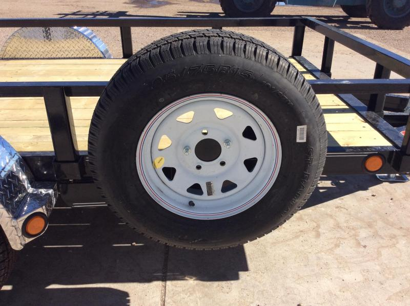 2018 PJ 5x10 Single Axle Channel Utility