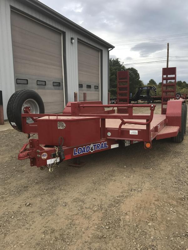 2018 Load Trail Bobcat 14000 Lb w/4 X 6 Angle Iron Frame Equipment Trailer