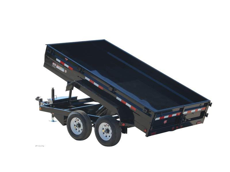2018 PJ Trailers 78 in. Medium Duty Dump (D2) Dump Trailer