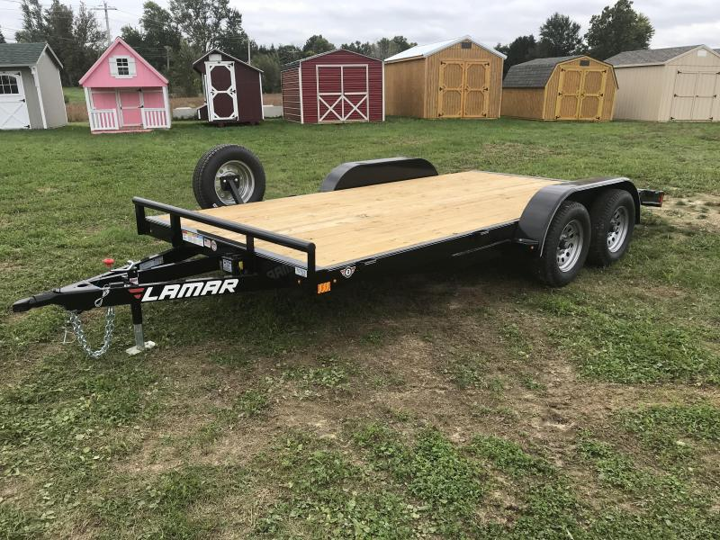"18' x 83"" 2019 Lamar Trailers Car Hauler"