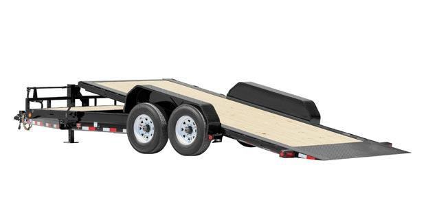 2018 PJ Trailers HD Equipment Tilt 6 in. Channel (TJ) Equipment Trailer