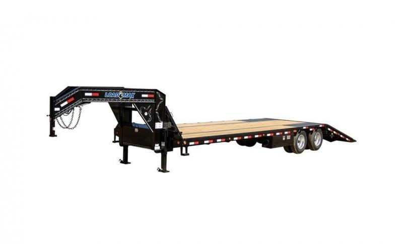"2018 Load Trail GL24 - Gooseneck Low-Pro w/ Hyd Dove Tail 24000 Lb & 12"" 19 Lb I-Beam Frame"