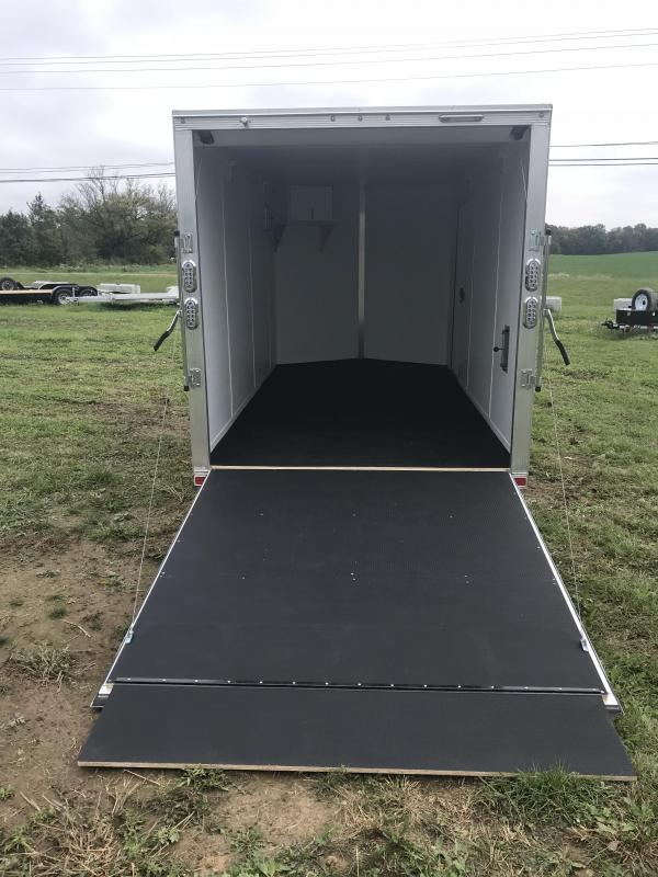 7' x 14' Sport Haven Aluminum Enclosed Trailer