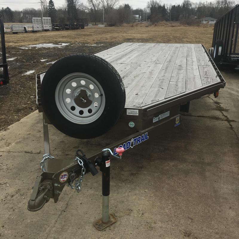 2018 Load Trail 4 Channel Deckover ATV / Snowmobile Trailer