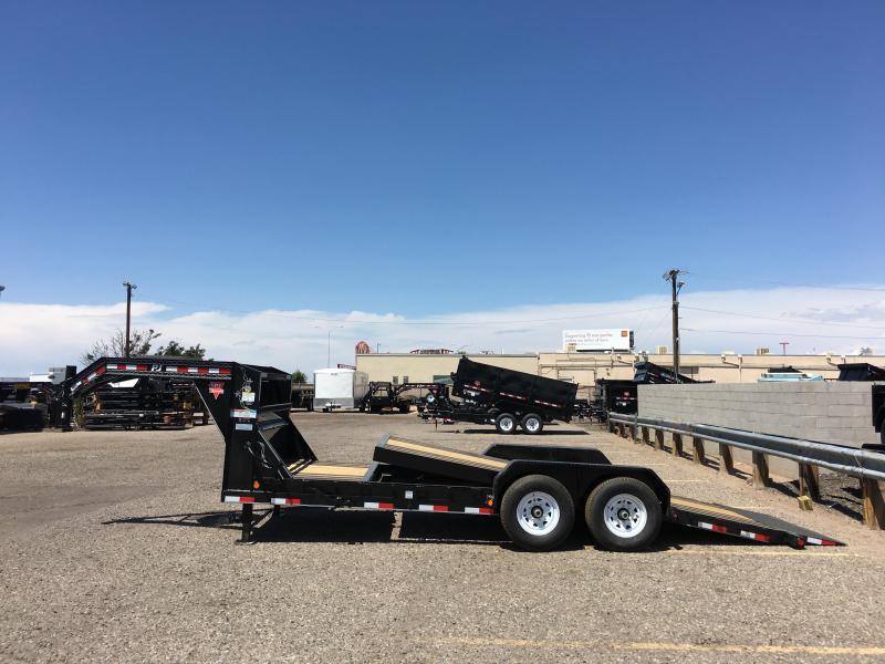2018 PJ Gooseneck 6in. Channel Equipment Tilt Trailer
