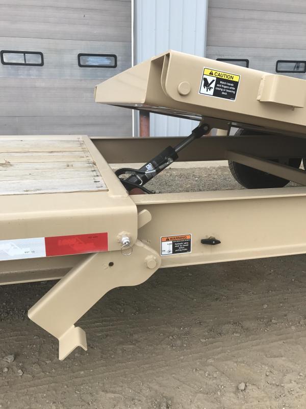 2018 Load Trail 8 I-beam Frame Tilt-n-go Tilt Deck Equipment Trailer