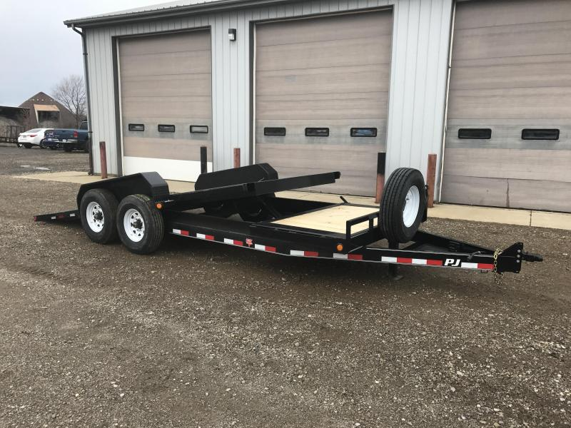 2018 PJ Trailers HD Equipment Tilt