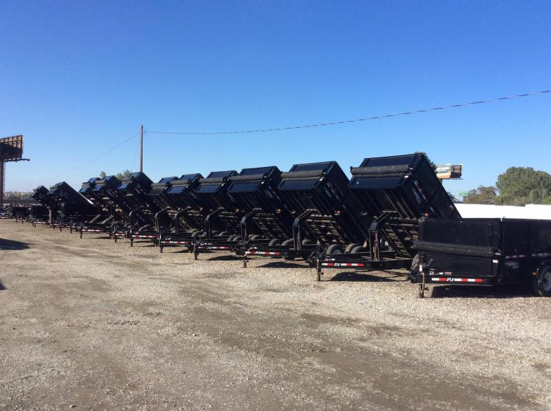 2018 Lamar Trailers GN Deck-Over Dump Trailer