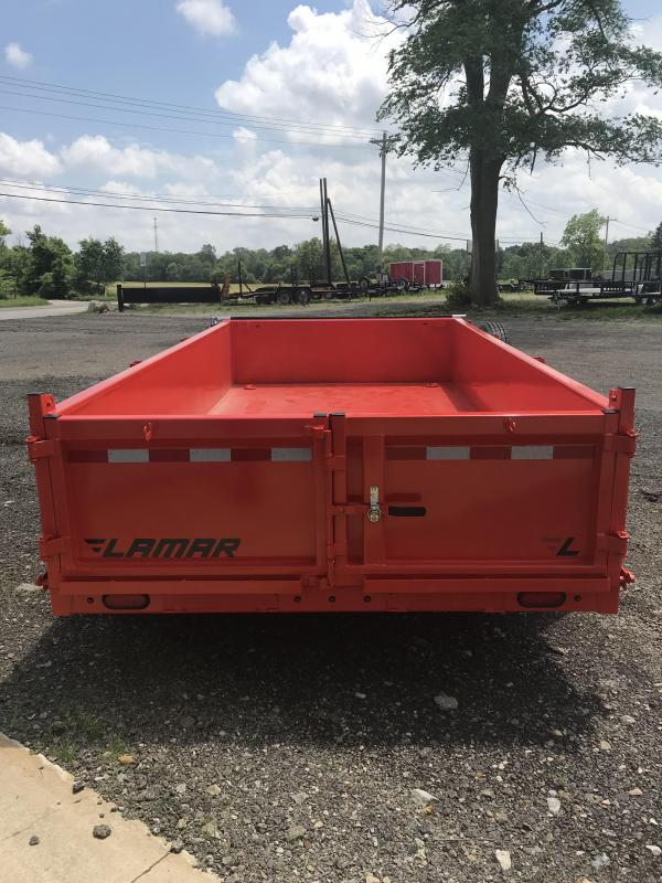 2018 Lamar Trailers Low Pro Dump Trailer 14' x 83""