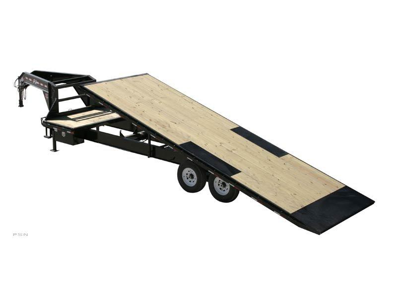 2018 PJ Trailers HD Deckover Tilt (T9) Car / Racing Trailer