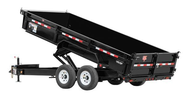 2018 PJ Trailers 83 in. Low Pro XL Dump (DJ) Dump Trailer