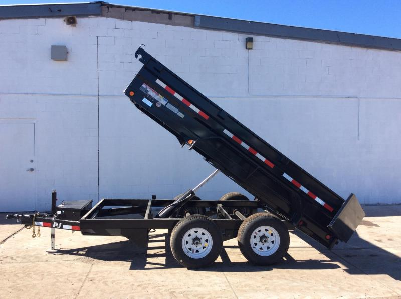 2018 PJ Trailers 72 in. Tandem Axle Dump (D3) Dump Trailer