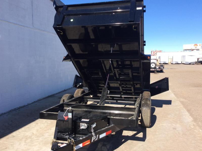 2018 PJ Trailers 72 in. Tandem Axle Dump (D3) Dump Trailer