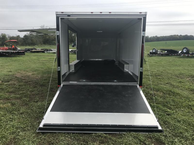 8.5 x 24 MTI Enclosed Car Hauler 2019