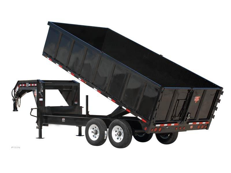 2018 PJ Trailers 91 in. Deckover Dump (DS) Dump Trailer