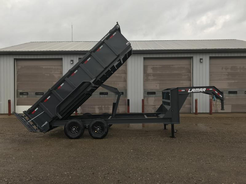 2018 Lamar Trailers 83 X 16 Gooseneck High Side Dump Trailer (DL) Dump Trailer in Ashburn, VA