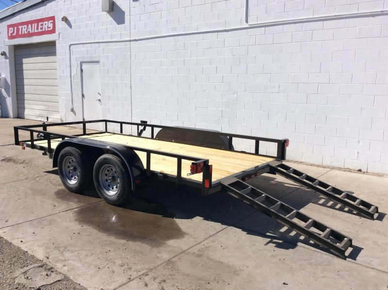 2019 16FT Lamar Trailers Classic Utility Trailer