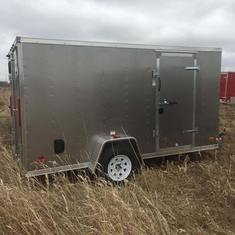 2018 RC Trailers RC6X12VNOSE Enclosed Cargo Trailer