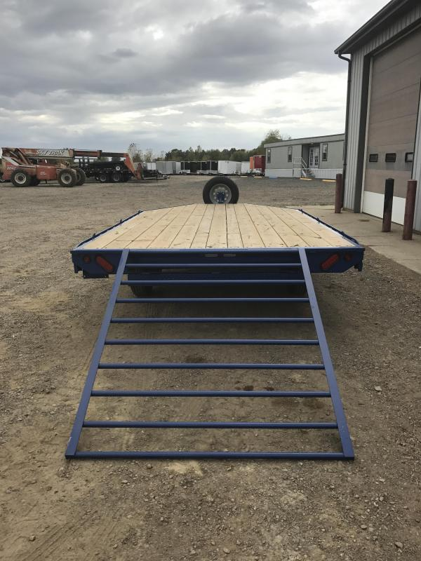 2018 Load Trail 4 Channel Deckover ATV / Snowmobile Trailer