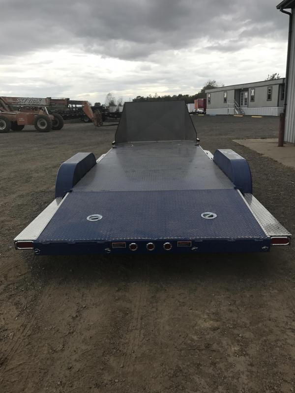2018 Load Trail 5 Channel Carhauler and 45 Degree Front Corners Car / Racing Trailer