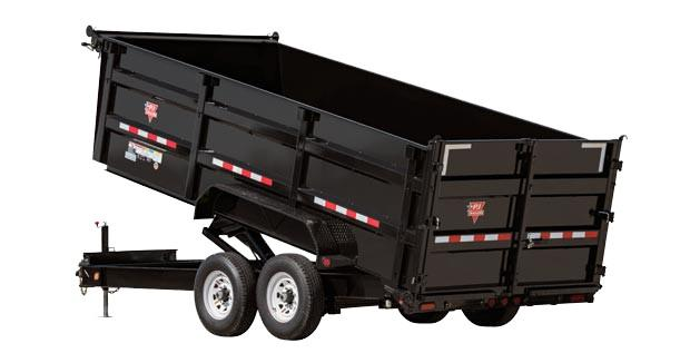 2018 PJ Trailers 83 in. Low Pro XL High Side Dump (DK) Dump Trailer