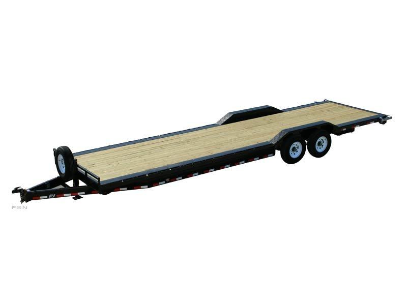 2018 PJ Trailers 8 in. Channel Super-Wide (B8) Car / Racing Trailer
