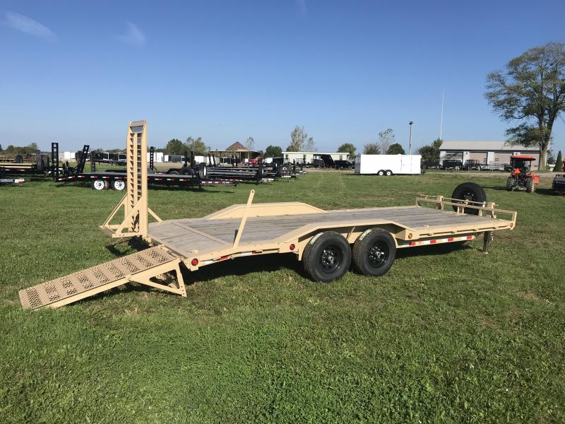 "22' X 102"" PJ Super-Wide Equipment Trailer"