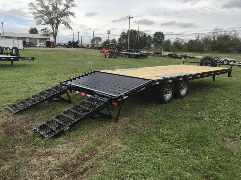 "24' X 102"" 14K Lamar I-Beam Deck-over Flatdeck"