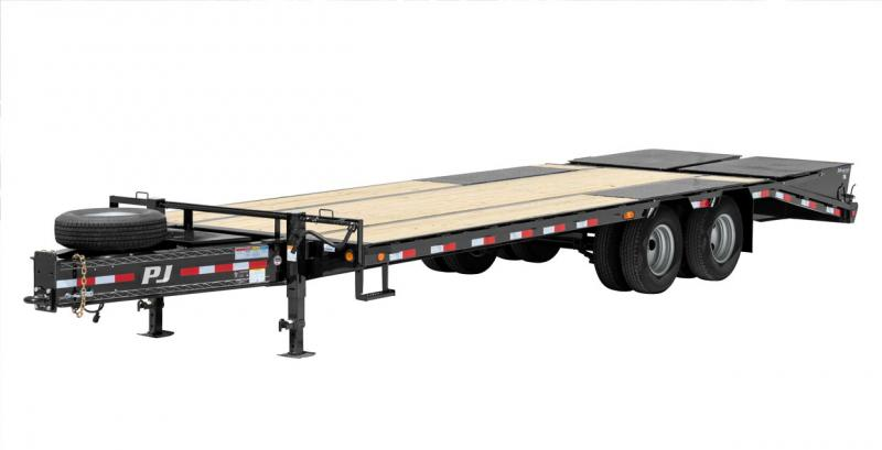 2018 PJ Trailers Low-Pro Pintle with Duals (PL) Flatbed Trailer
