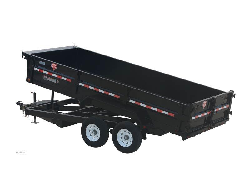 2018 PJ Trailers 83 in. XL Dump (D9) Dump Trailer