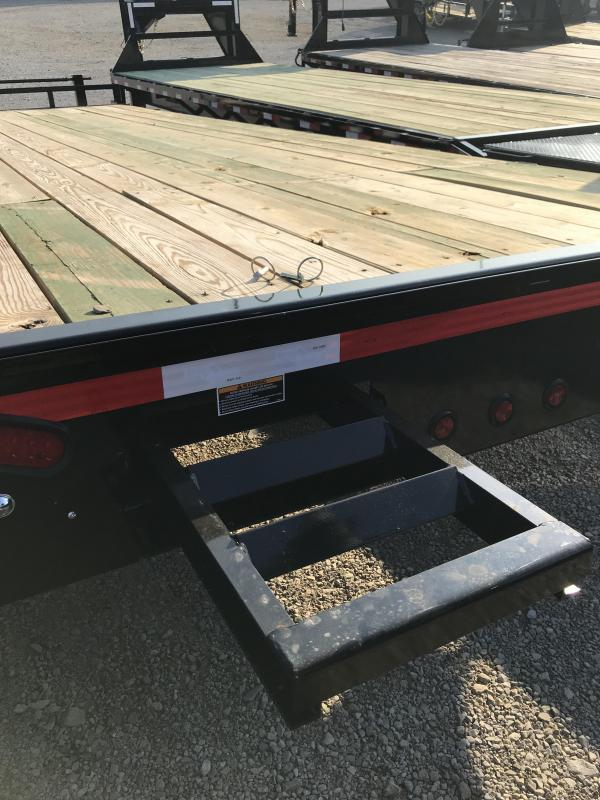 2019 Load Trail 24' DECK OVER Equipment Trailer
