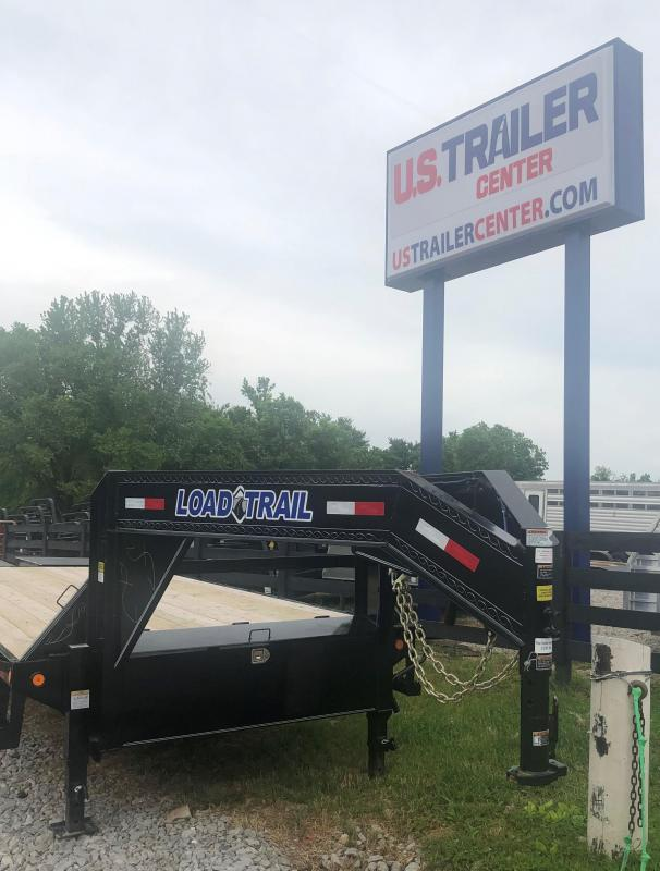 2019 Load Trail 25 Tandem Heavy Duty Gooseneck Flatbed Trailer