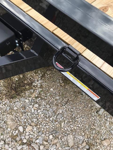 2019 Sure-Trac 7 X 18 Wood Deck Car Hauler Tandem Axle