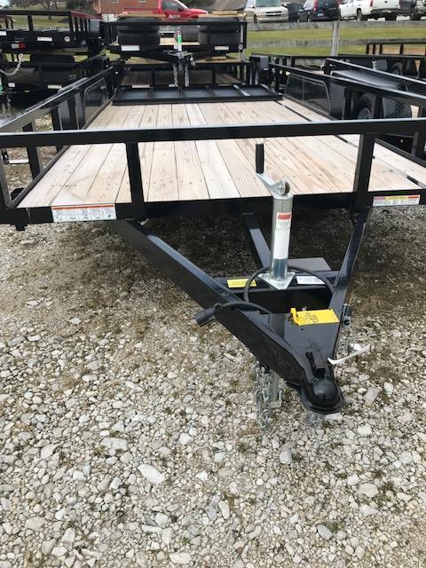 2019 Sure-Trac 7 X 16 Tube Top Utility 10K Tandem