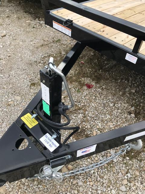 2019 Sure-Trac 7 X 20 Wood Deck Car Hauler Tandem Axle