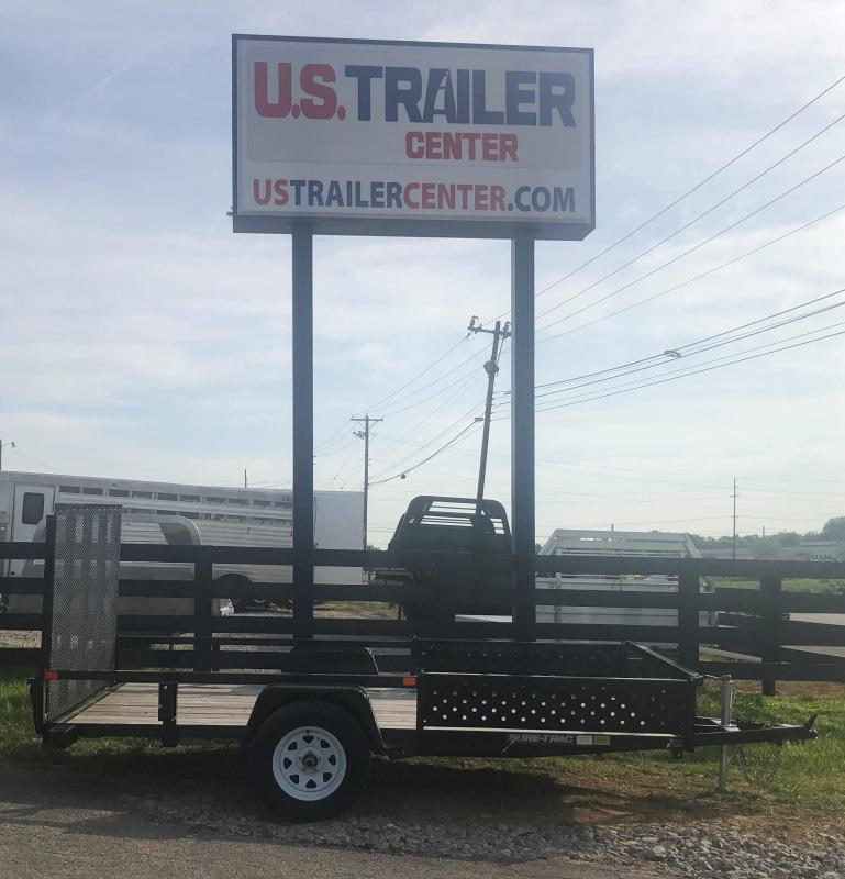 2018 Sure-Trac 6 X 12 Tube Top ATV Utility Trailer Single Axle