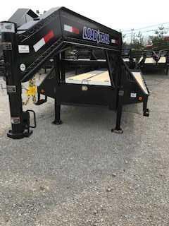 2019 Load Trail 30 Tandem Low-Pro Gooseneck w/Hyd. Dove Flatbed Trailer