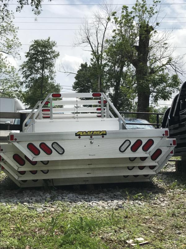 2017 Aluma 96 x 106 dual wheel bed Truck Bed