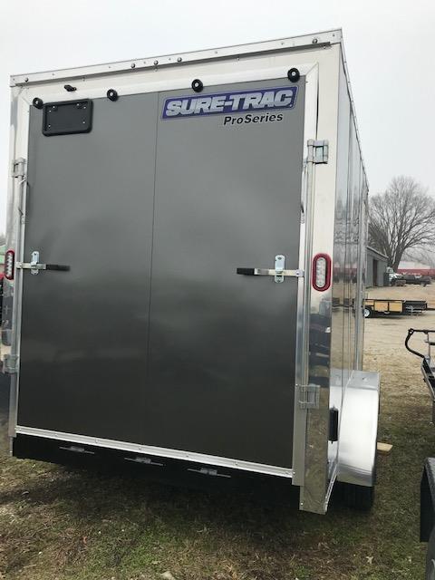 2019 Sure-Trac 7 x 12 Pro Series Wedge Cargo Tandem Axle
