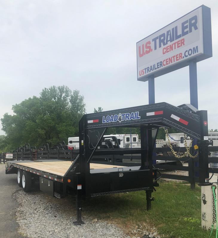 2019 Load Trail 26 Gooseneck Flatbed Trailer RAISED NECK PERFECT FOR LIFTED TRUCK OR SEMI