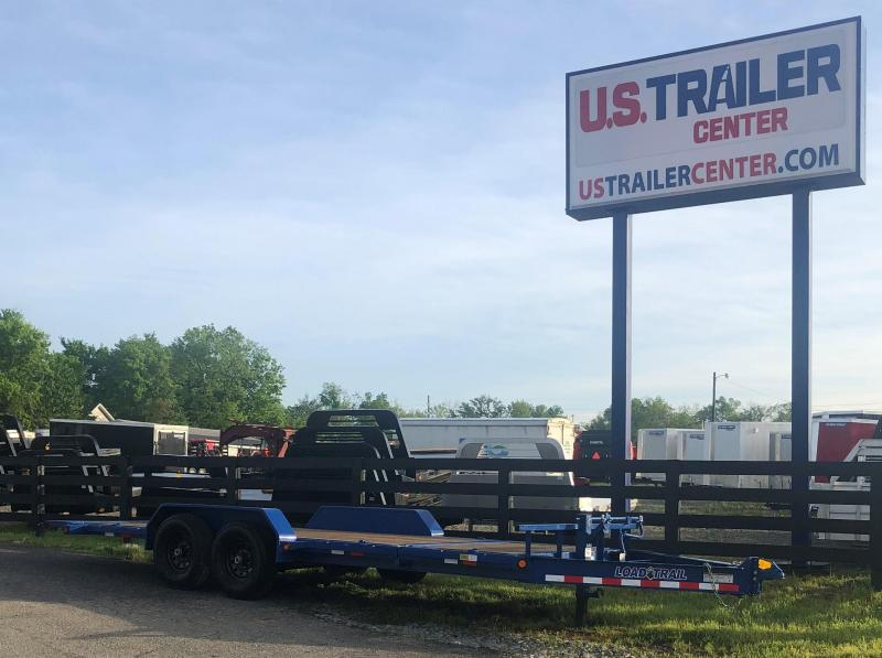 2019 Load Trail 20 Blue Tilt-N-Go Tandem Axle Equipment Trailer
